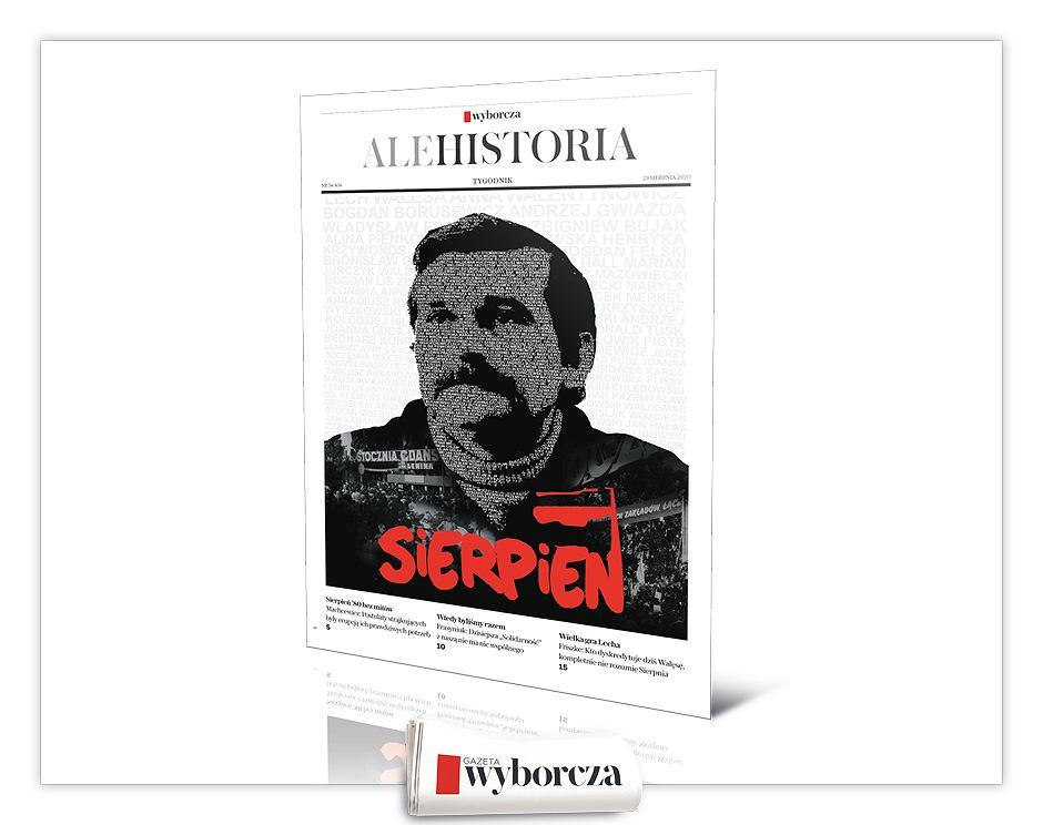 Specjalne wydanie tygodnika 'Ale Historia' w sobotę 29 sierpnia w 'Wyborczej'