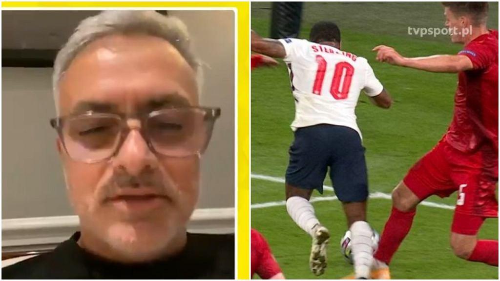 Jose Mourinho o kontrowersyjnym rzucie karnym w półfinale Euro 2020