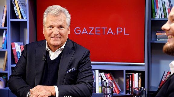 Aleksander Kwaśniewski o aferze KNF: ''Sprawa wygląda grubo''