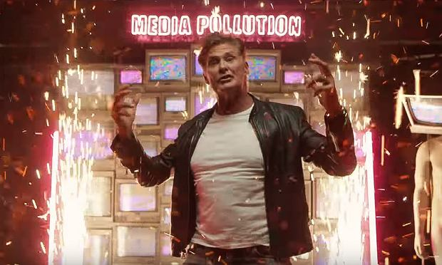 David Hasselhoff 'Open Your Eyes' feat. James Williamson (Official Music Video)