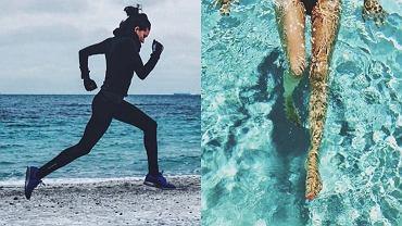 bieganie i pływanie