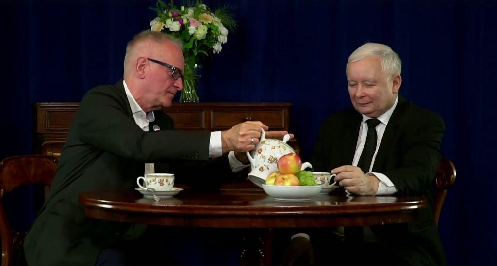 Spot wyborczy Krzysztofa Czabańskiego/ facebook - Krzysztof Czabański