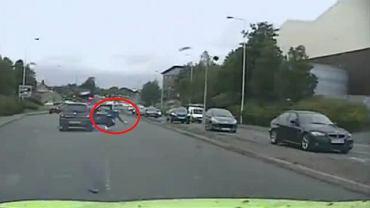 Szalony pościg policji za byłym piłkarzem Manchesteru. Jechał 160 km/h. Na koniec wyskoczył z jadącego samochodu