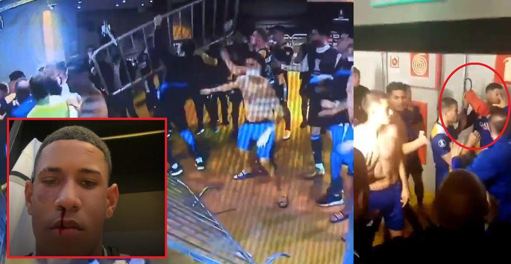Zamieszki po meczu Atletico Mineiro - Boca Juniors