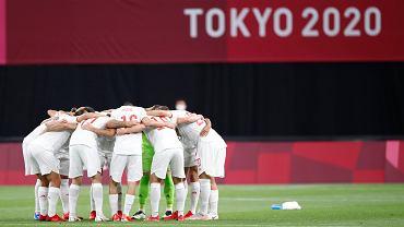 Hiszpania remisuje z Egiptem w pierwszym meczu na igrzyskach olimpijskich w Tokio. Źródło: Twitter (Hiszpański Związek Piłki Nożnej)