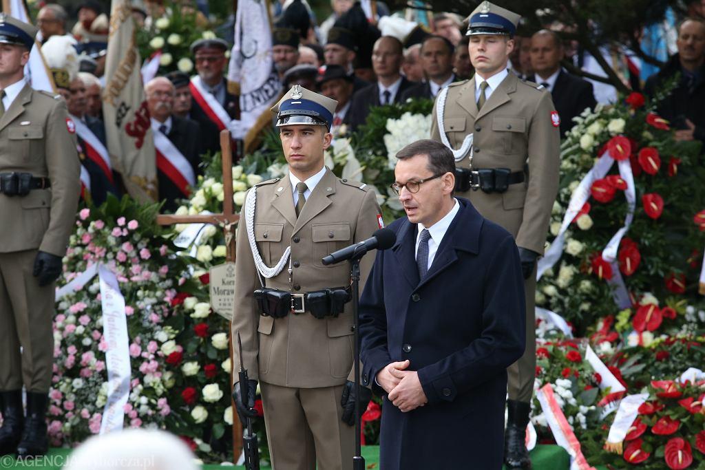 Uroczystości pogrzebowe Kornela Morawieckiego