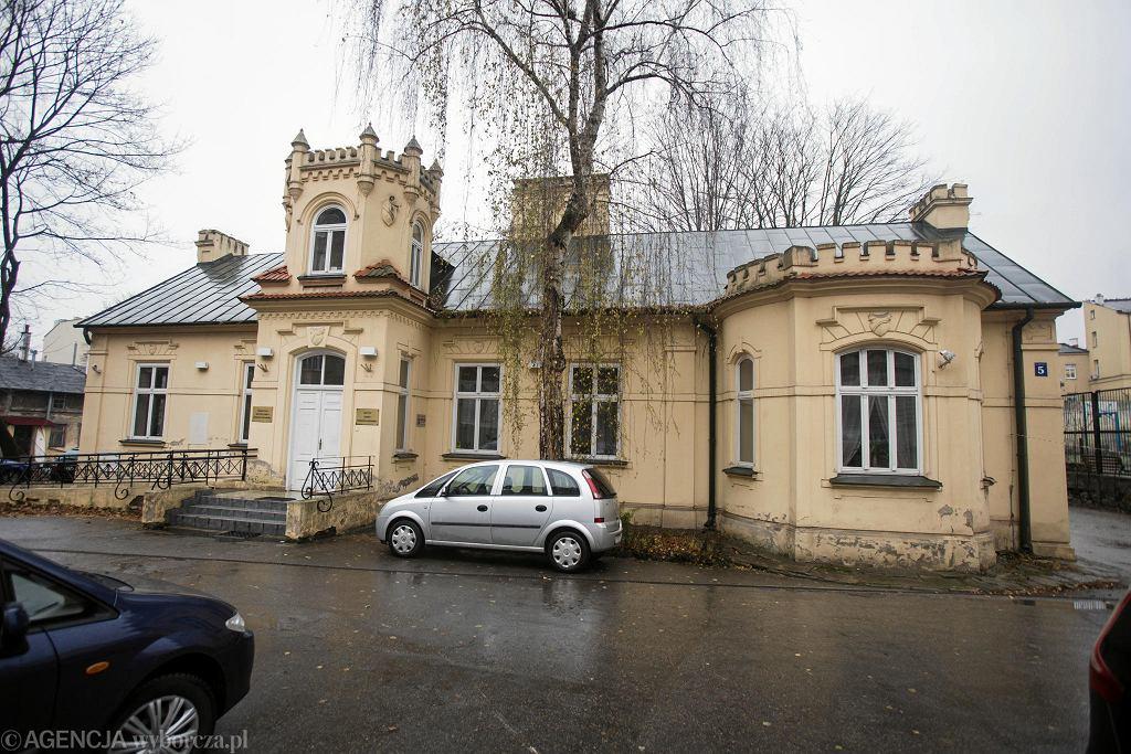 Lublin. W tym budynku przy ul. Niecałej mieścił się Instytut Europy Środkowo - Wschodniej