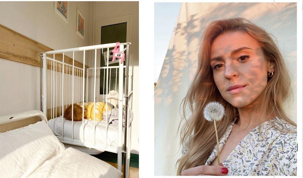 Kasia Tusk z córką w szpitalu