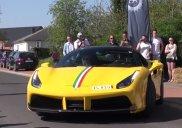 Ferrari 488 z wydechem Akrapovic