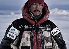 Zdobył K2 bez tlenu. Postrzelony niegdyś komandos. Nie stać go było nawet na klapki