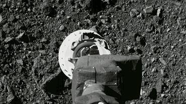 """Sonda NASA dotknęła asteroidy Bennu i zebrała kosmiczny pył. """"To był niesamowity wyczyn"""""""