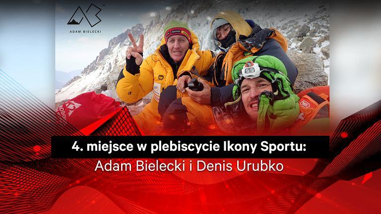 Adam Bielecki i Denis Urubko 4. w plebiscycie Ikony Sportu