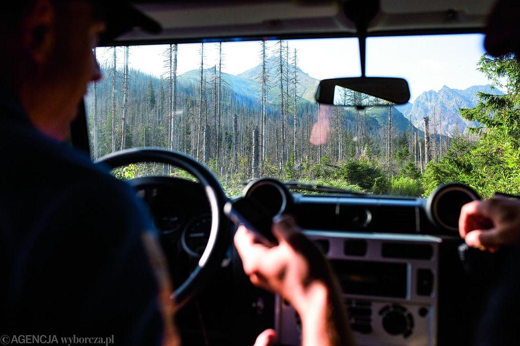 Przejazd terenówką z Zakopanego do schroniska Murowaniec na Hali Gąsienicowej trwa około godziny. Powiedzieć, że droga jest wyboista, to nic nie powiedzieć.