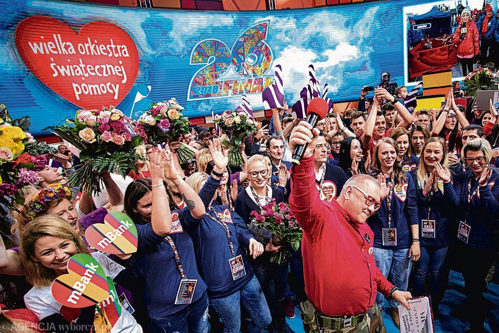 WOŚP 2019. Wielka Orkiestra gra w Warszawie. A my z nią!