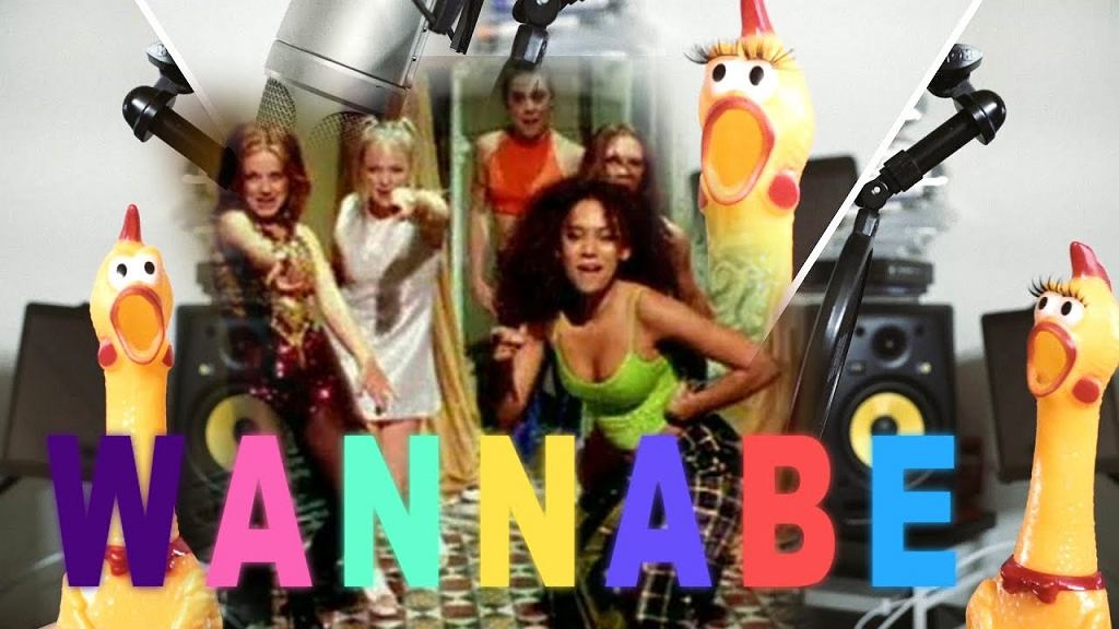 Spice Girls - Wannabe | Rubber Chicken Cover ?Chickensan?