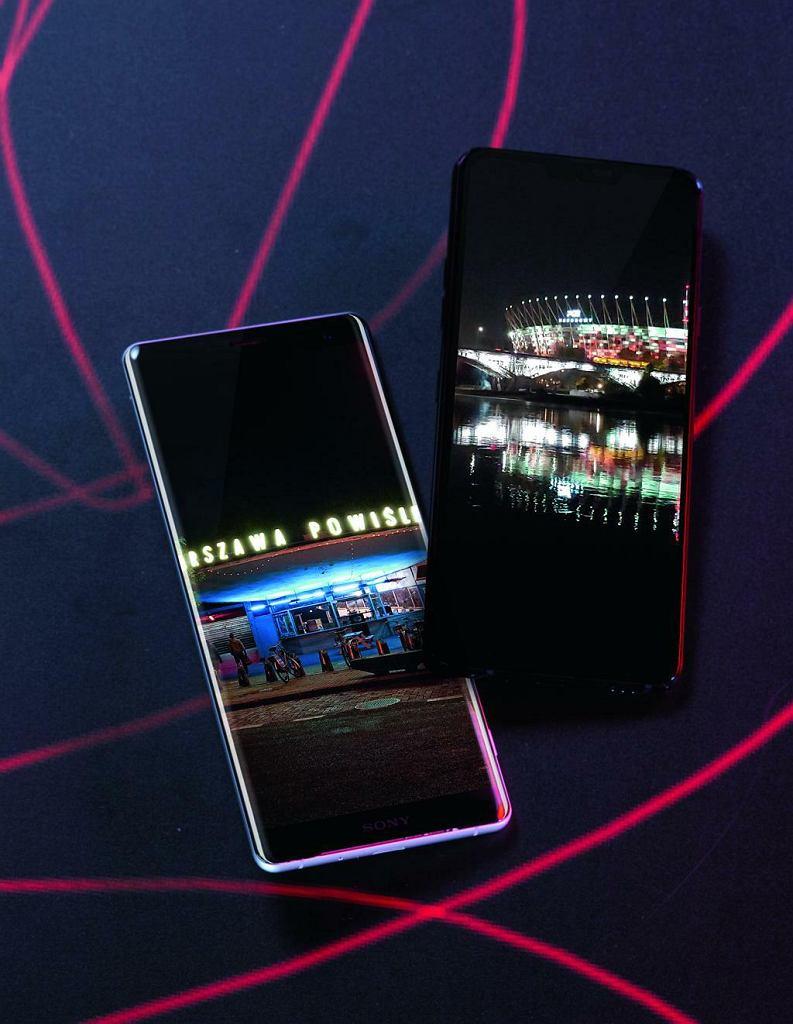 Sony Xperia ZX3 i LG G7 ThinQ