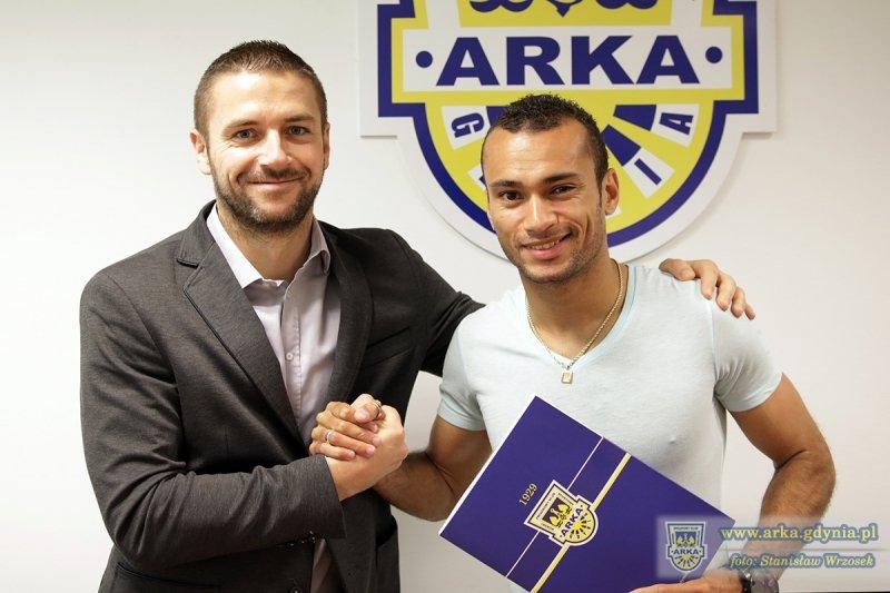 Marcus da Silva podpisał z Arką nowy, dwuletni kontrakt