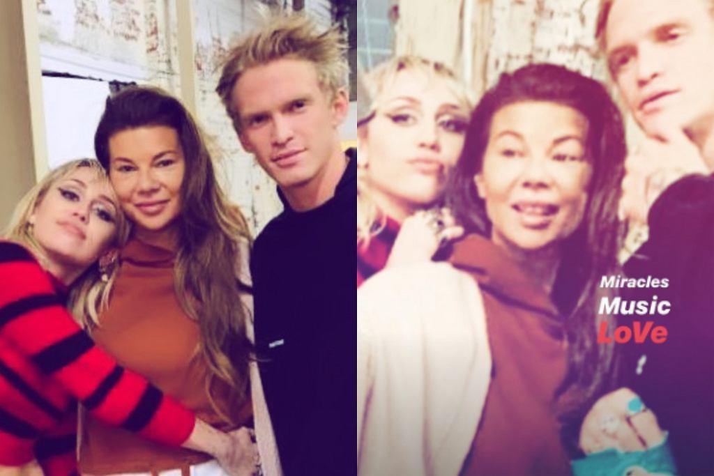 Edyta Górniak, Miley Cyrus, Cody Simpson
