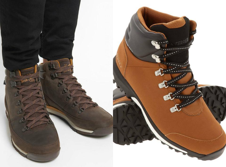 Męskie buty na zimę z przeceny