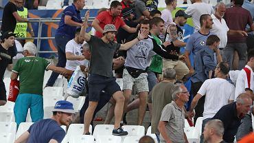Zamieszki na meczu Rosja - Anglia