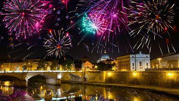 Tak wygląda świętowanie Sylwestra w Rzymie