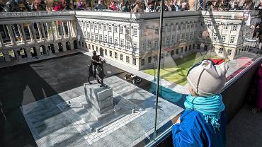 Pałac Saski już w zeszłym roku stanął na pl. Piłsudskiego - w skali mikro, jako makieta