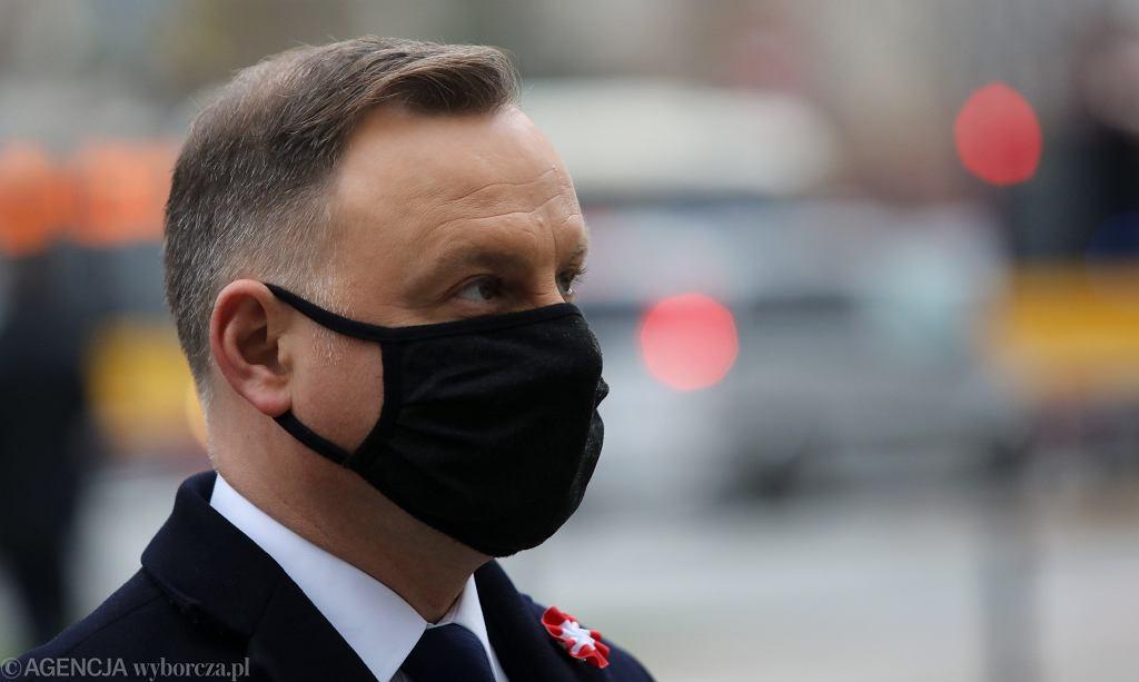 Andrzej Duda oddał osocze