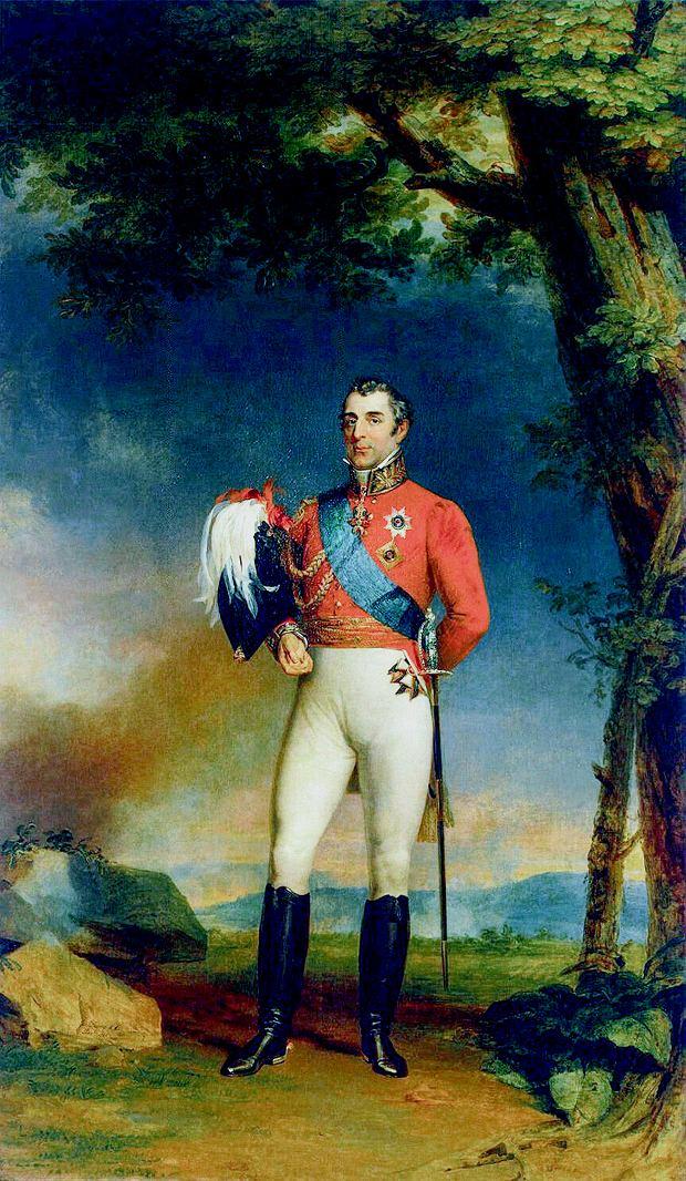 Arthur Wellesley (1769-1852). Bardziej znany jako Wellington. Zamówione przez niego buty dały początek kaloszom, a w Ameryce - po przeróbkach - powstały z nich popularne kowbojki.