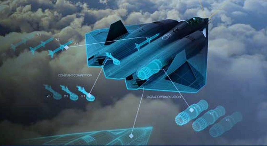 Najnowsza oficjalna grafika USAF prezentująca kształt NGAD