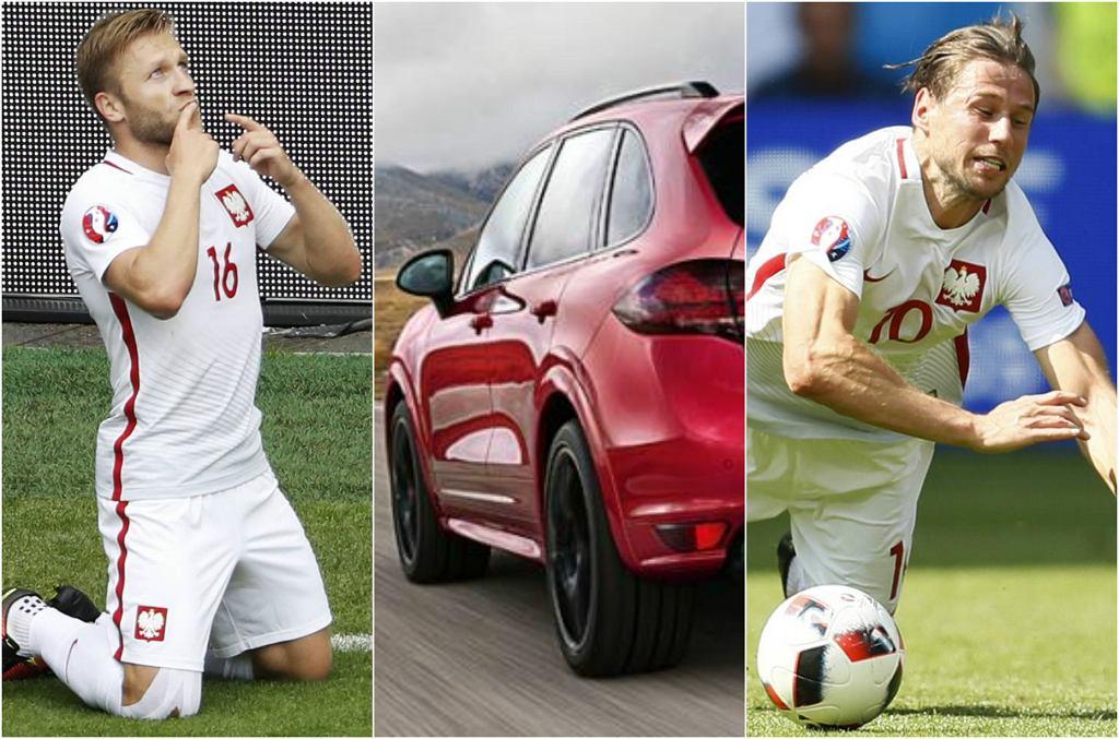 Zobaczcie, czym jeżdżą piłkarze polskiej reprezentacji na Euro 2016. Najbardziej zaskoczyła nas cena auta Błaszczykowskiego.