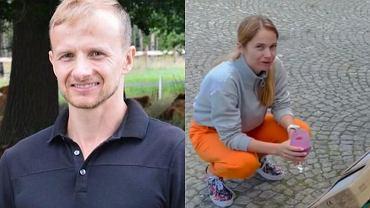 Paweł Bodzianny i Marta Paszkin pokazali płytki do remontowanej łazienki