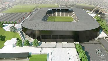 Stadion Pogoni po przebudowie