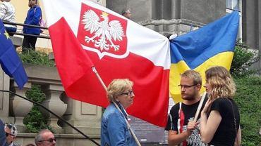 Przedstawicieli mniejszości ukraińskiej wspierali m.in. Obywatele RP i mieszkańcy Przemyśla