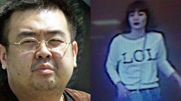 Kim Dzong Nam i jedna z zamachowczyń