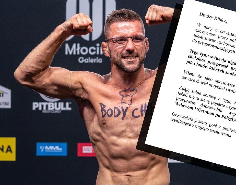 Mateusz Gamrot wydał oświadczenie
