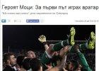 Liga Mistrzów. Bohater Ludogorca Cosmin Moti: Już nie chcę być bramkarzem!