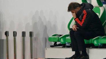 Louis van Gaal po meczu z Wolfsburgiem