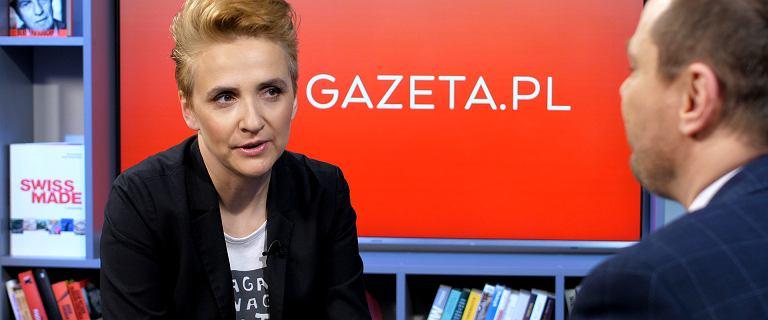 Scheuring-Wielgus: W oczach Kaczyńskiego zobaczyłam