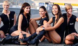 Wyścigowe dziewczyny