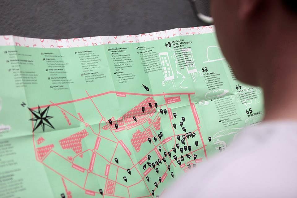 Mapa Tarchomina