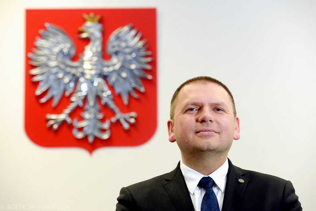 Sędzia Maciej Nawacki