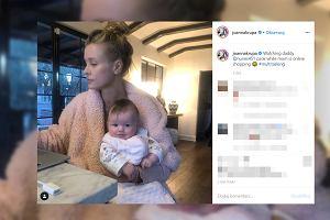 Joanna Krupa - mama-agentka. Odkryła, że jej córka przypomina pewne znane dziecko