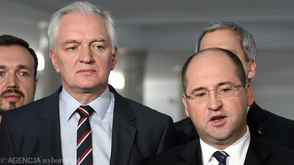 Jarosław Gowin, Adam Bielan
