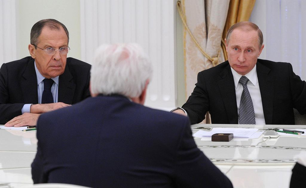 Spotkanie prezydentów Niemiec i Rosji