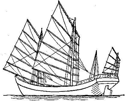 Na podobnych dżonkach pływali piraci Ching