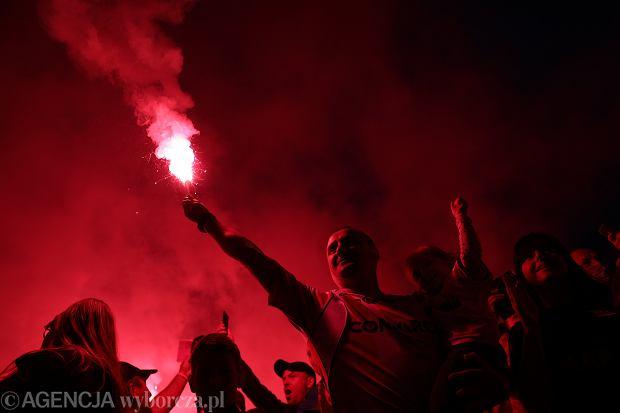 Feta Cracovii z okazji zdobycia Pucharu Polski