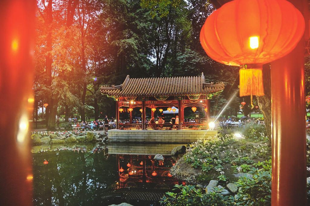 Muzyka Orientu Podczas Festiwalu Chińskich Lampionów W