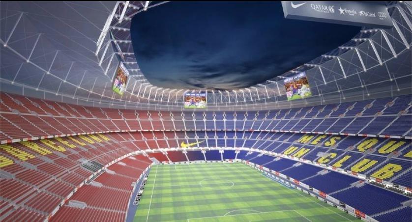 Tak ma wyglądać przebudowany stadion Camp Nou