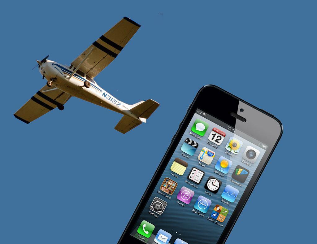 iPhone, który wypadł z samolotu, odnalazł się w niemal idealnym stanie
