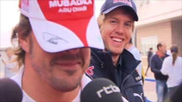 Alonso, Vettel